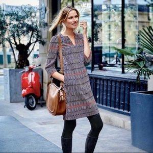 Boden   Easy Notch Tunic Dress